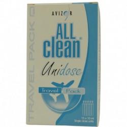 All Clean Unidose 150 ml, Travel Pack 15x10 ml, ampułki