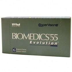Biomedics 55 Evolution - ujemne