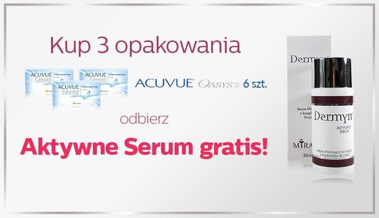 Aktywne serum gratis!