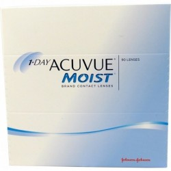 Acuvue 1-DAY Moist 180 szt. + Gratis do (2 op.)