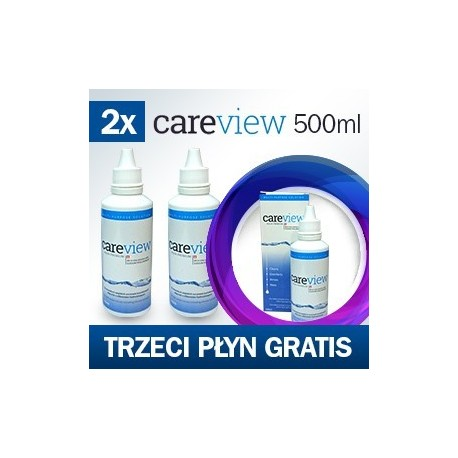 CareView Aqua Premium 500 ml. Trzeci płyn gratis.