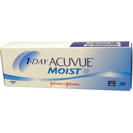 Acuvue 1-DAY Moist 30 szt - Wyprzedaż mocy -0.50