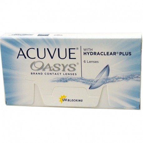 Acuvue Oasys 6 szt. - Wyprzedaż