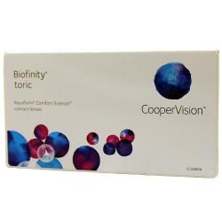 Biofinity Toric 3 szt. Wyprzedaż