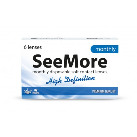 SeeMore High Definition Monthly 6 szt.