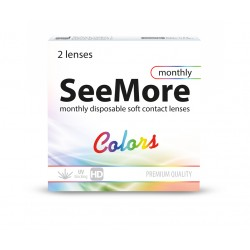 SeeMore Colors 2 szt - Nowość. Wyprzedaż koloru True Sapphire.