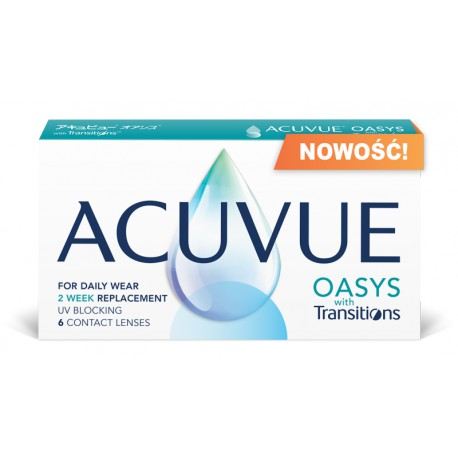 Acuvue Oasys with Transitions 6 szt - NOWOŚĆ