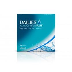 Dailies AquaComfort Plus 180 szt. + Łańcuszek gratis (do 2op)