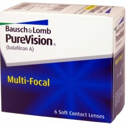 PureVision Multifocal 6 szt. + Gratis do (2 op.)