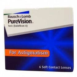 PureVision Toric 6 szt. + Gratis (od 2op)