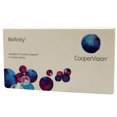 Biofinity 6 szt.