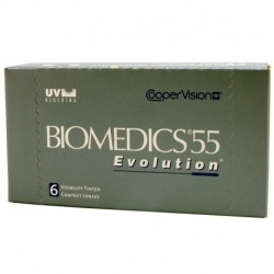 Biomedics 55 Evolution - ujemne
