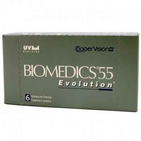 Biomedics 55 Evolution - dodatnie