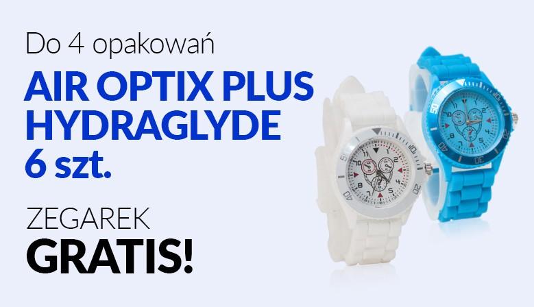 Do 4 opakowań zegarek gratis